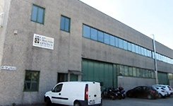 Site industriel de Milan (Italie)